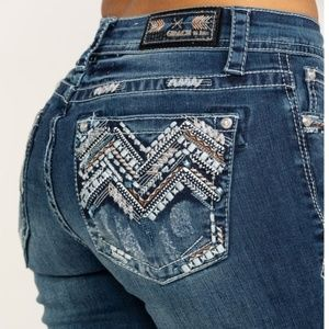 Grace in LA bling jeans